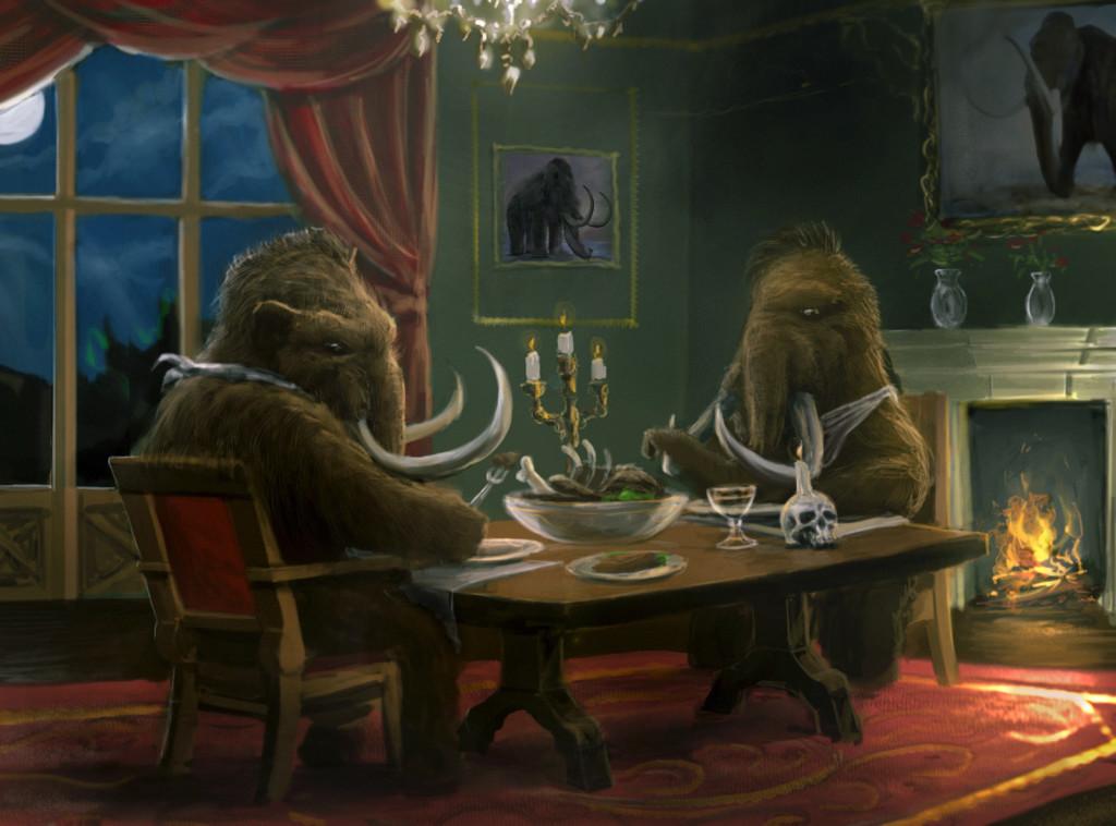 Mammots Dinner