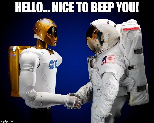 Nice to beep you