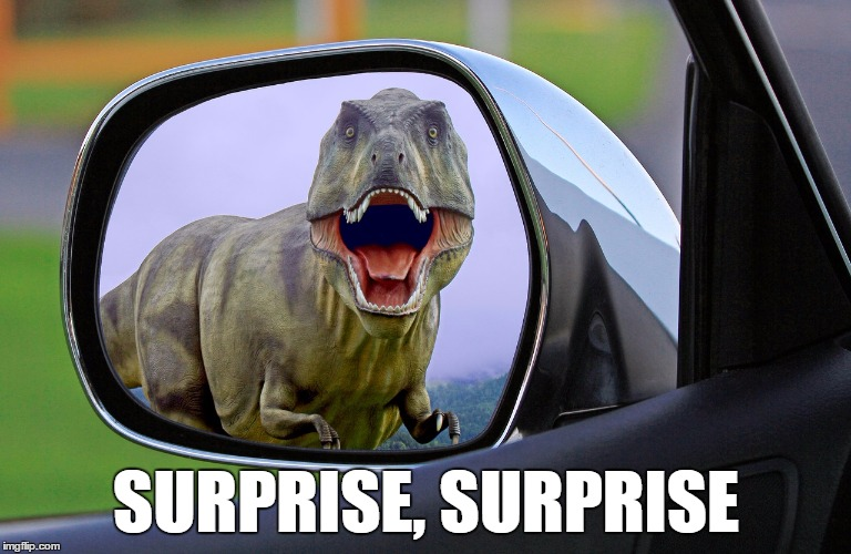 Dinosaur Rearview Mirror 1