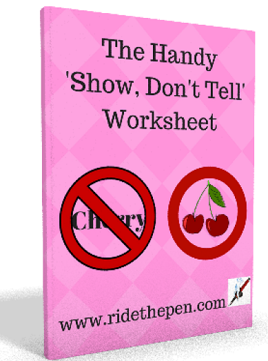 Show Don't Tell: Your Cheat Sheet and Worksheet (Many Examples!)