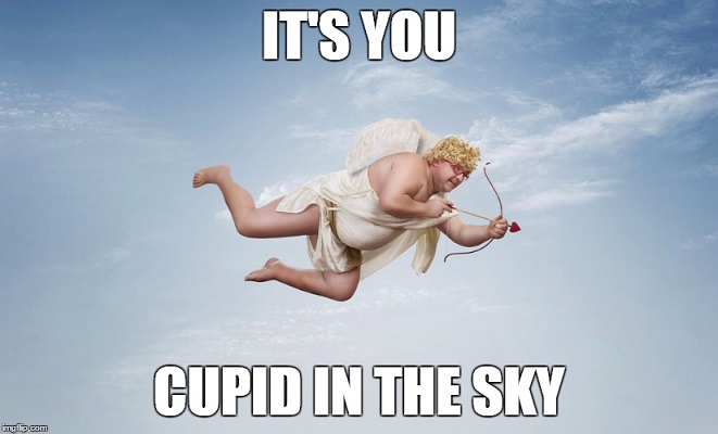 Kissing Scene Cupid
