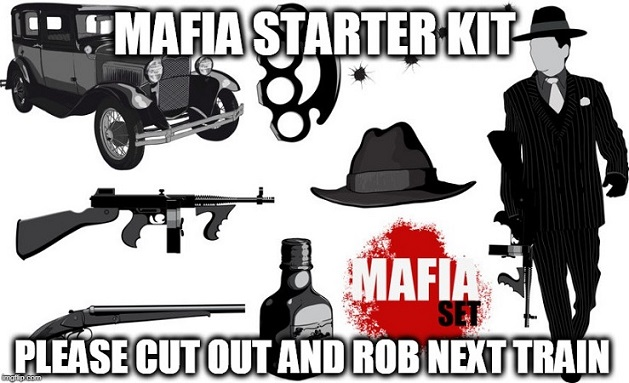 How to outline a novel: Mafia Starter Kit